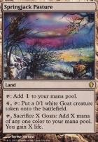 Commander 2013: Springjack Pasture