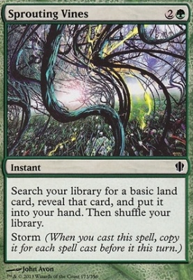 Commander 2013: Sprouting Vines