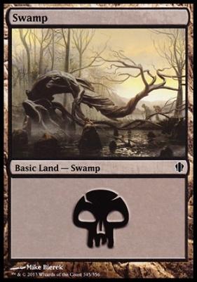 Commander 2013: Swamp (345 A)