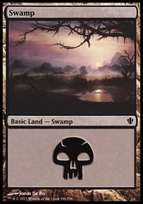 Commander 2013: Swamp (346 B)