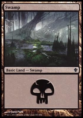 Commander 2013: Swamp (347 C)