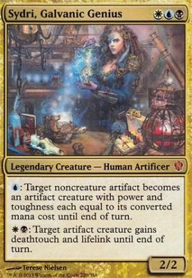 Commander 2013: Sydri, Galvanic Genius