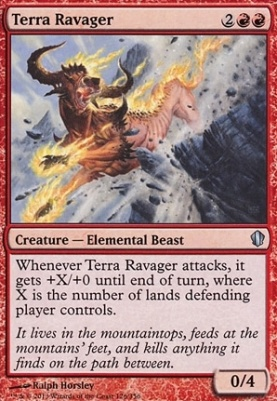 Commander 2013: Terra Ravager