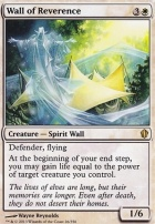 Commander 2013: Wall of Reverence