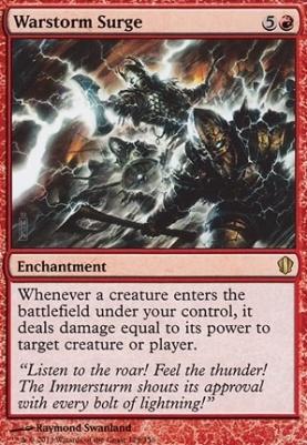 Commander 2013: Warstorm Surge