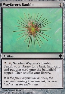 Commander 2013: Wayfarer's Bauble