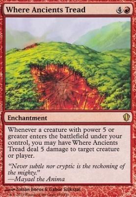 Commander 2013: Where Ancients Tread