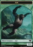 Commander 2014: Ape Token - Zombie Token (Blue)