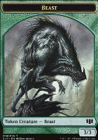 Commander 2014: Beast Token - Elemental Token (Allsop)