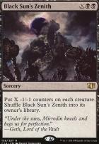 Commander 2014: Black Sun's Zenith
