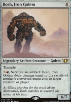 Commander 2014: Bosh, Iron Golem