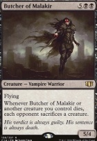 Commander 2014: Butcher of Malakir