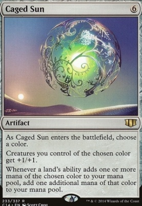 Commander 2014: Caged Sun