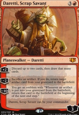 Commander 2014: Daretti, Scrap Savant
