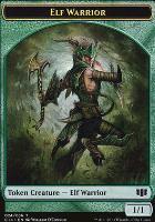 Commander 2014: Elf Warrior Token - Gargoyle Token
