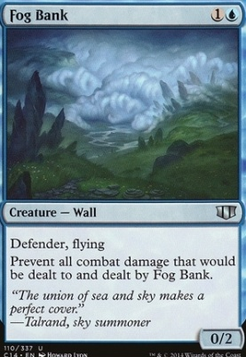Commander 2014: Fog Bank