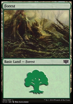 Commander 2014: Forest (334 A)