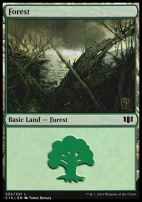 Commander 2014: Forest (335 B)