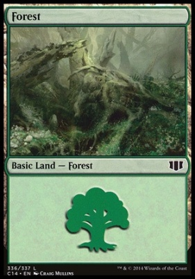 Commander 2014: Forest (336 C)