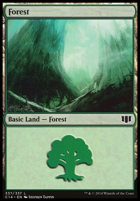 Commander 2014: Forest (337 D)