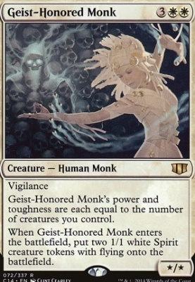 Commander 2014: Geist-Honored Monk