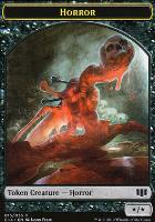 Commander 2014: Horror Token - Zombie Token (Black)