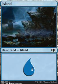 Commander 2014: Island (322 A)