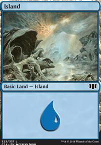 Commander 2014: Island (323 B)