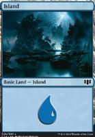 Commander 2014: Island (325 D)