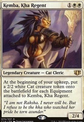 Commander 2014: Kemba, Kha Regent