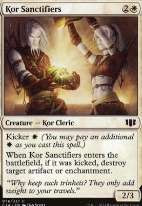 Commander 2014: Kor Sanctifiers