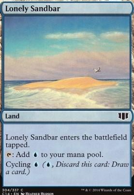 Commander 2014: Lonely Sandbar