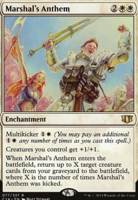 Commander 2014: Marshal's Anthem