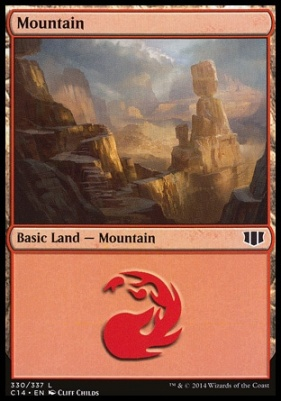 Commander 2014: Mountain (330 A)