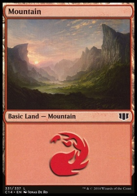 Commander 2014: Mountain (331 B)