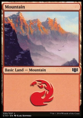 Commander 2014: Mountain (332 C)