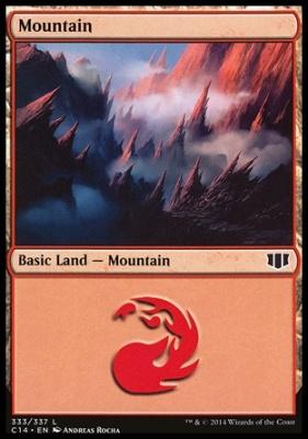 Commander 2014: Mountain (333 D)