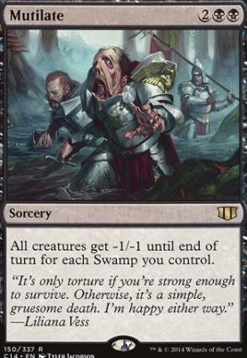 Commander 2014: Mutilate