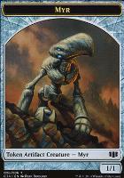 Commander 2014: Myr Token - Pentavite Token