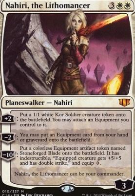 Commander 2014: Nahiri, the Lithomancer