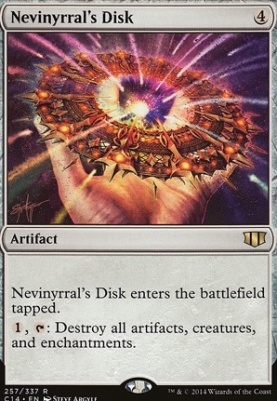 Commander 2014: Nevinyrral's Disk