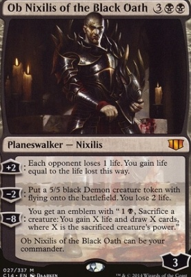 Commander 2014: Ob Nixilis of the Black Oath