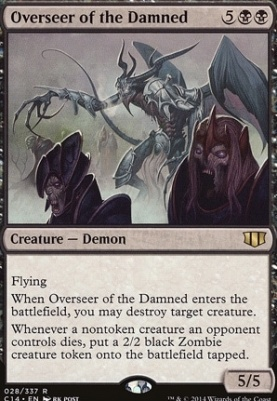Commander 2014: Overseer of the Damned