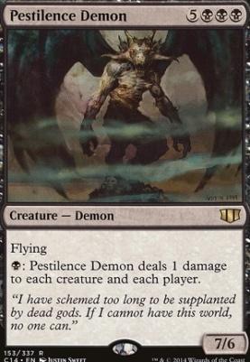 Commander 2014: Pestilence Demon