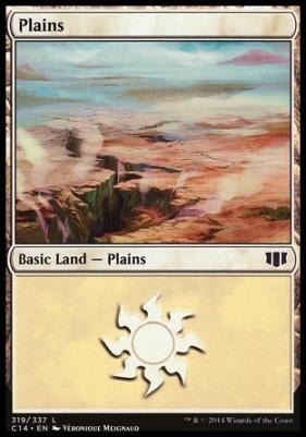 Commander 2014: Plains (319 B)