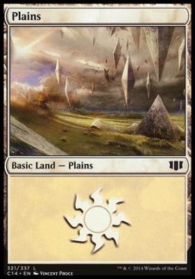 Commander 2014: Plains (321 D)