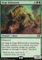 Commander 2014: Siege Behemoth