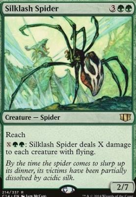 Commander 2014: Silklash Spider