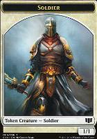 Commander 2014: Soldier Token - Spirit Token