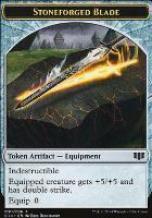 Commander 2014: Stoneforged Blade Token - Germ Token